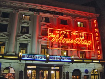 Agatha Christie's The Mousetrap at St. Martin's Theatre - London, England