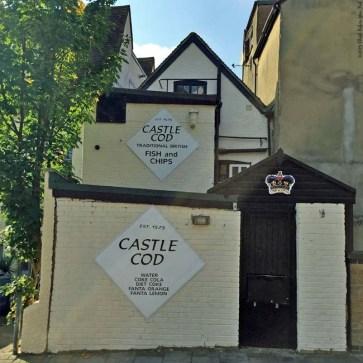 Back side of Castle Cod - Windsor, England