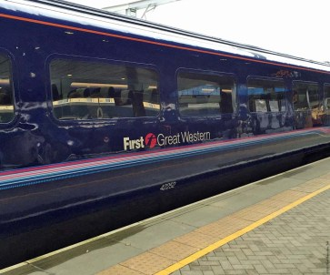 First Great Western train - England