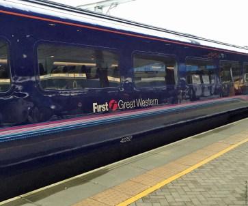 First Great Western train - England