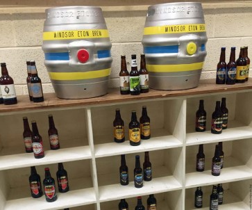 Display at Windsor and Eton Brewery - Windsor, England
