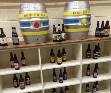 Display at Windsor and Eton Brewery - Windsor, England