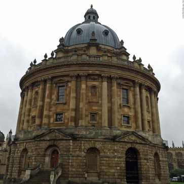 Radcliffe Camera in Radcliffe Square - Oxford, England