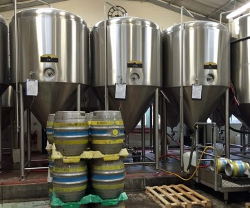 Brew tanks at Windsor and Eton Brewery - Windsor, England