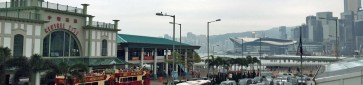 Central Ferry Piers, Convention and Exhibition Centre, Hong Kong Island - Hong Kong, China