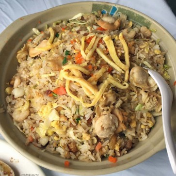 Seafood combination fried rice - Cheung Chau, Hong Kong, China