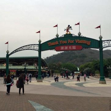 Leaving Hong Kong Disneyland - Hong Kong, China