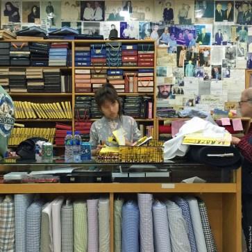 Inside Sam's Tailor - Tsim Sha Tsui, Hong Kong, China