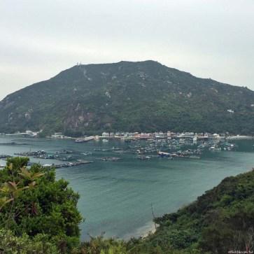 View of Pichic Bay and Sok Kwu Wan, Lamma Island - Hong Kong, China
