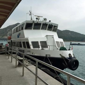 Ferry to Lamma Island - Hong Kong, China