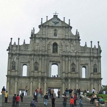 St. Paul Ruins - Macau, China