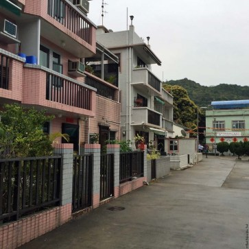 Housing in Yung Shue Wan, Lamma Island - Hong Kong, China