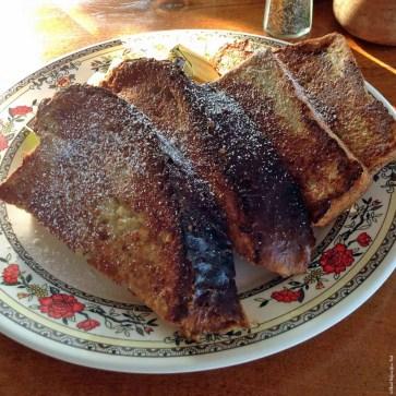 French Toast made with homemade Luau Bread at The Coffee Shack - Hōnaunau, HI