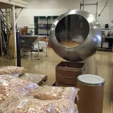 Flavoring Panner at Hamakua Macadamia Nut Company - Kawaihae, HI