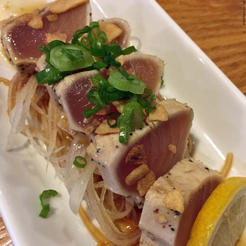 Tuna Tataki at Guu - Vancouver, British Columbia, Canada