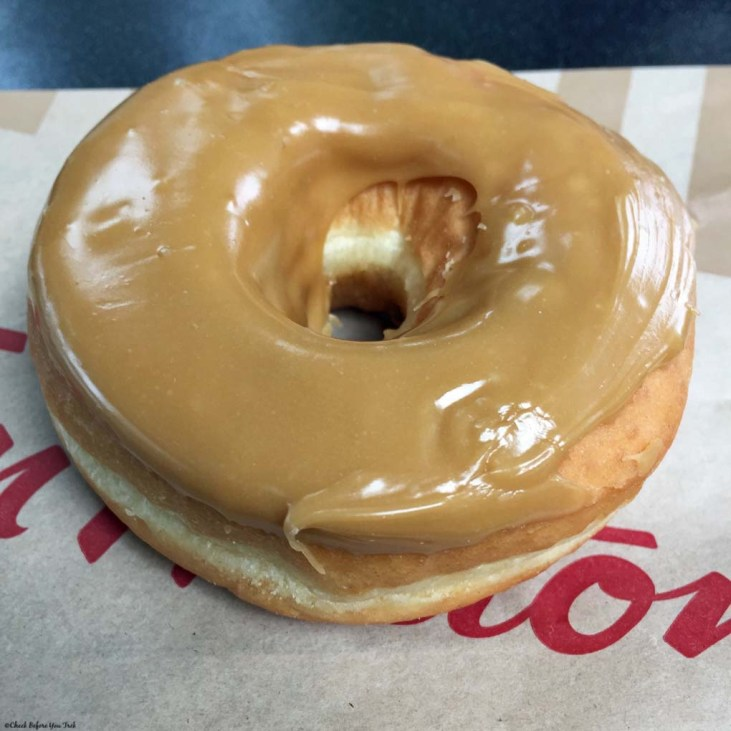 Maple Dip Donut at Tim Hortons - Vancouver, British Columbia, Canada