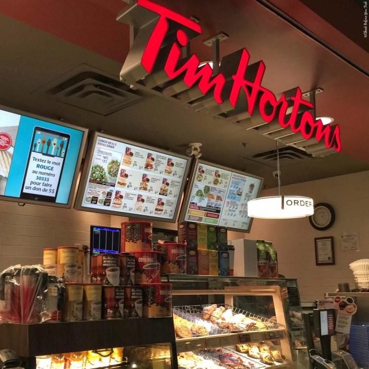 Tim Hortons - Vancouver, British Columbia, Canada