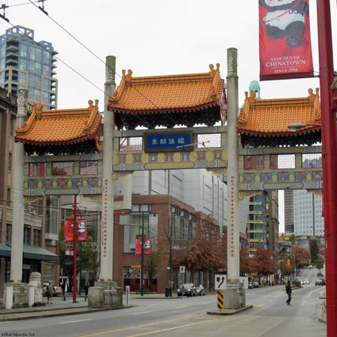 Vancouver Chinatown - Vancouver, British Columbia, Canada