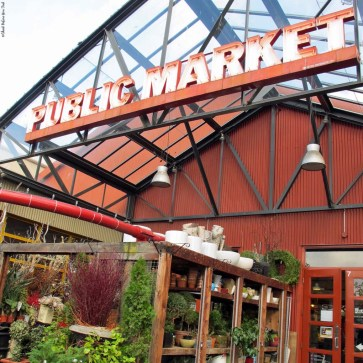 Granville Island Public Market - Vancouver, British Columbia, Canada