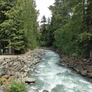 Rebagliati Park - Whistler Village, Whistler, British Columbia, Canada