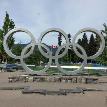Whistler Olympic Rings - Whistler Village, Whistler, British Columbia, Canada