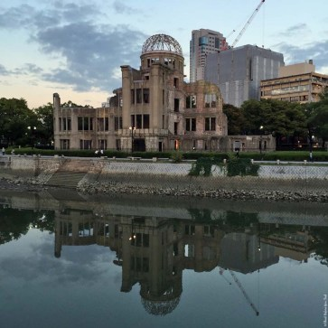 A-Bomb Dome during the day - Hiroshima, Japan