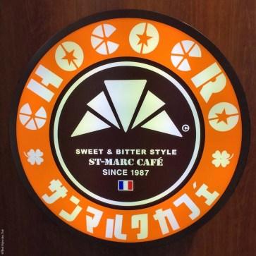 Logo for St. Marc Cafe and Choco Cro - Hiroshima, Japan
