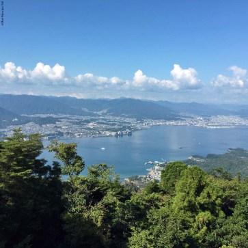 View from Mt. Misen Observatory - Miyajima Island, Itsukushima, Japan