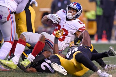 Rashad Jennings has struggled mightlily this season and it might be his last in the big apple.