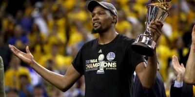 Kevin Durant Finals MVP
