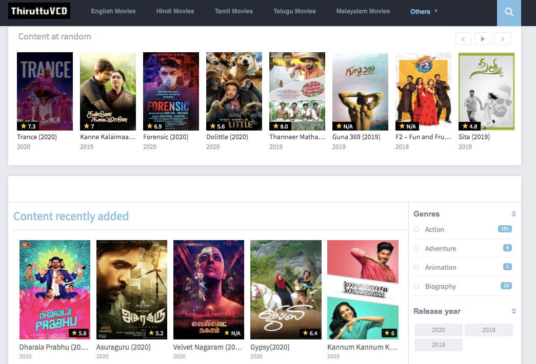 thiruttuvcd com new tamil movies free download
