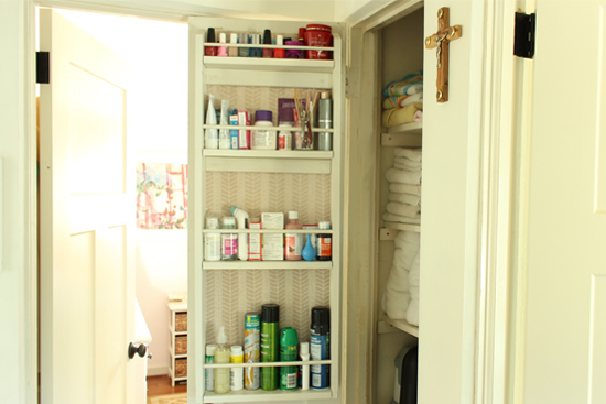 how to add storage to small closet