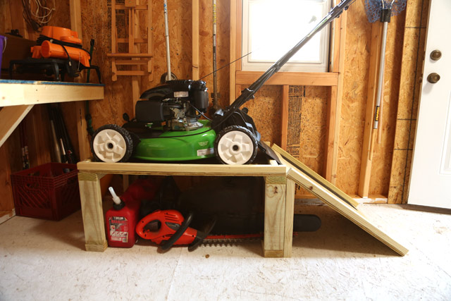 Lawn Mower Storage Caddy  Checking In With Chelsea