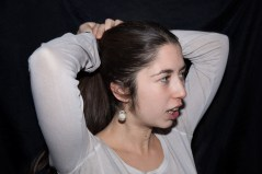 retrahere hache retrato portrait helena sanchez ana lopez
