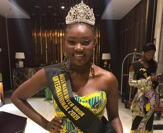 Liberia Miss Maryland County 2017 crowned Miss Mano River Union 2019