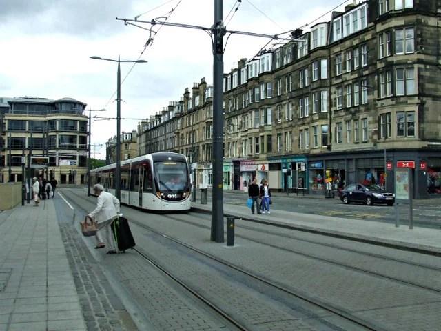 Haymarket fica ao lado do centro histórico de Edimburgo e também é alternativa para hospedagem em Edimburgo
