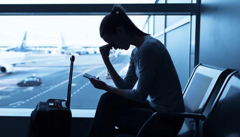 coronavírus resulta em cancelamento de viagem