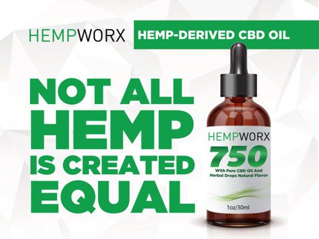 HempWorx Thrive Magazine Ad