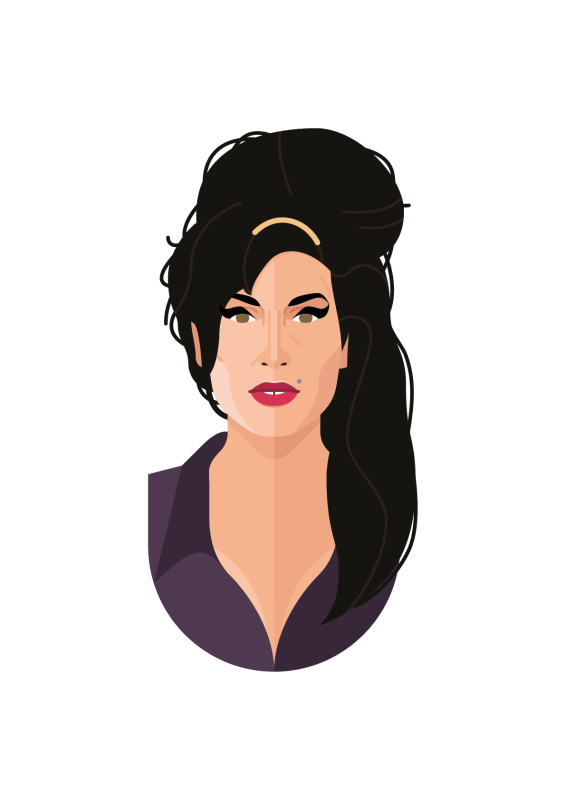 The Cool Club Amy Winehouse Poster