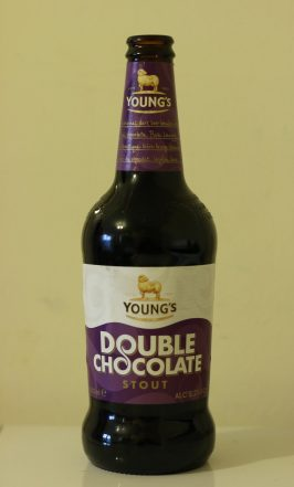 Double chocolate stout for bread baking