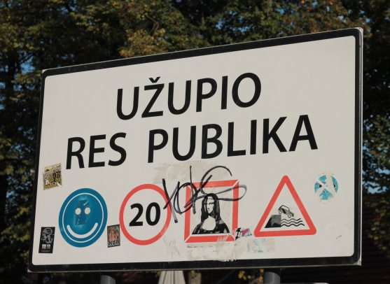 Užupis in Vilnius