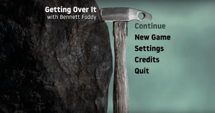 Games We Need: Getting Over It