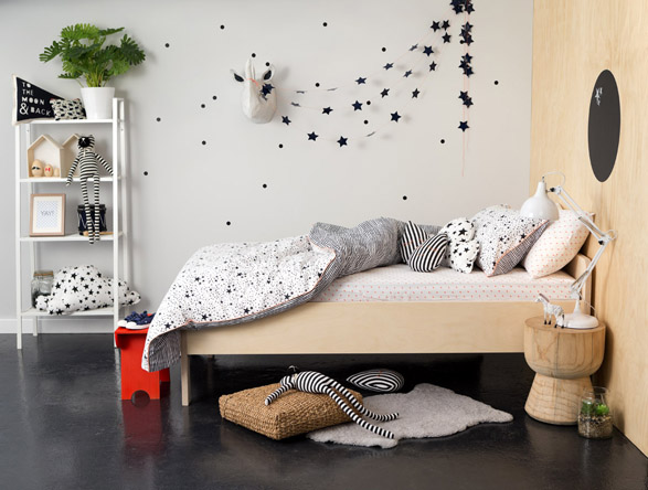 Cotton On Kids Launches First Bedroom Range  Checks and Spots