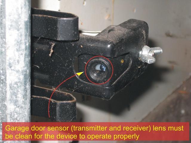 wiring diagram for chamberlain garage door opener class visual paradigm sensors   overhead sensor troubleshooting - checkthishouse