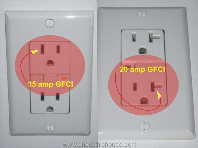 15 Amp Gfci On 20 Amp Circuit