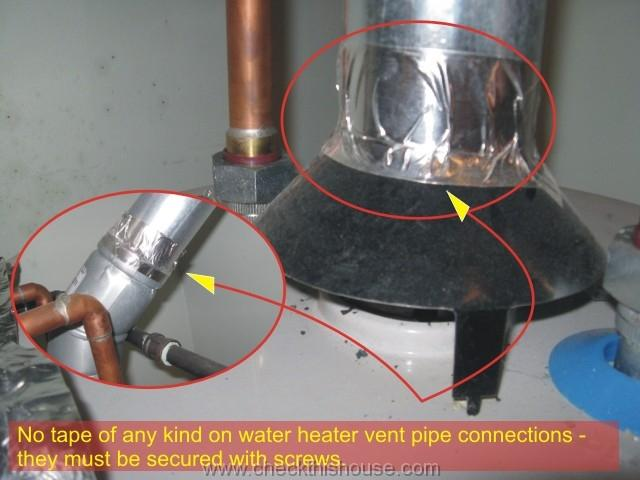 Water Heater Inspection  Home Inspector Tips