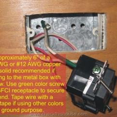 Wiring Diagram Of Residential House 7 Way Rv Trailer Gfci Outlet Installation / How To In 4 Easy Steps - Checkthishouse