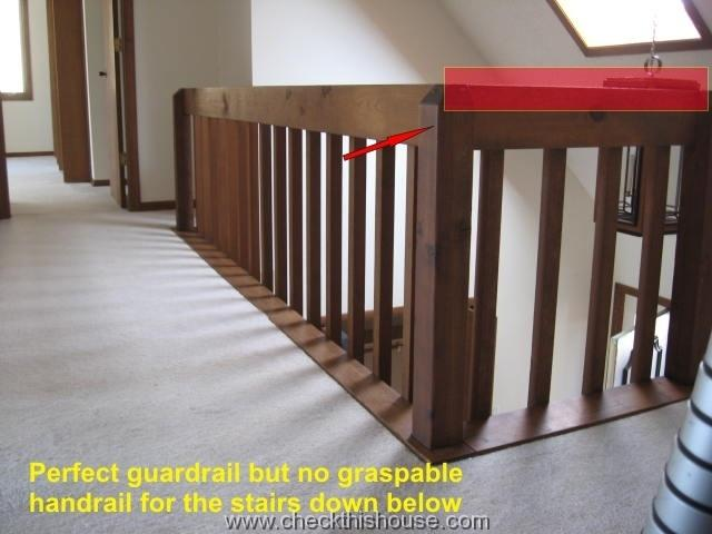 Stair Handrails and Guardrails Safety Issues