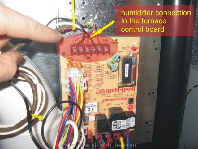 Wiring Humidifier Directly To Furnace Board Doityourselfcom
