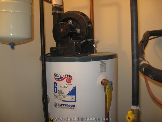 Gas Water Heater PVC Vent Pipe and Water Heater Power Vent